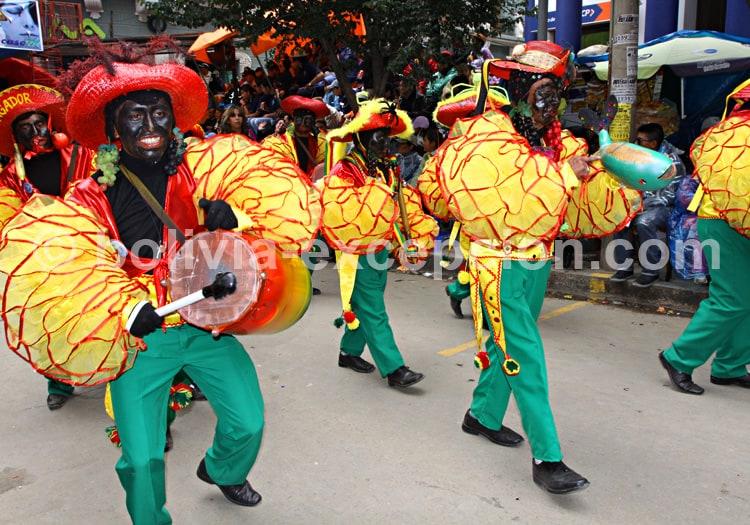 Danse Negritos, carnaval d'Oruro