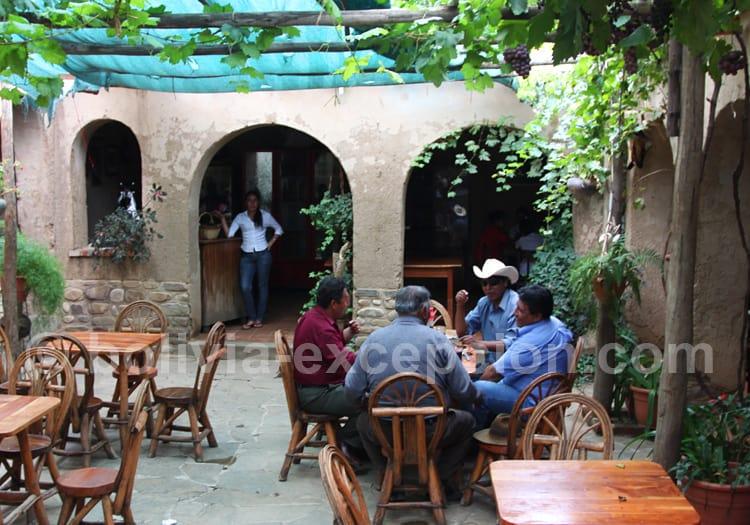 Vins d'altitude, bodega Casa Vieja, Tarija