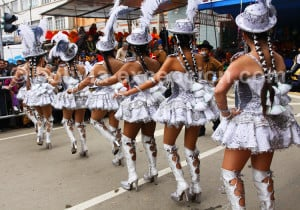 Danse folklorique bolivienne Caporales