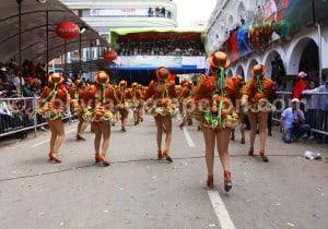Danse traditionnelle bolivienne El Caporal