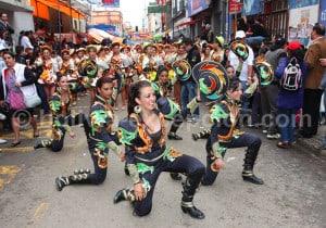 Caporales, danse du mulâtre bolivien