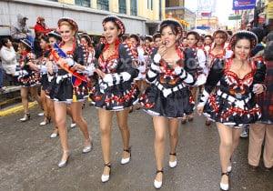 Caporales, danse Afro Bolivienne