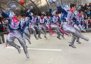 El Caporal et La Saya, deux danses similaires
