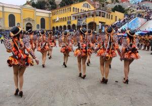 Caporales, danse de l'Altiplano