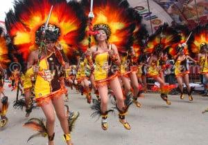 Carnaval Oruro Bolivie