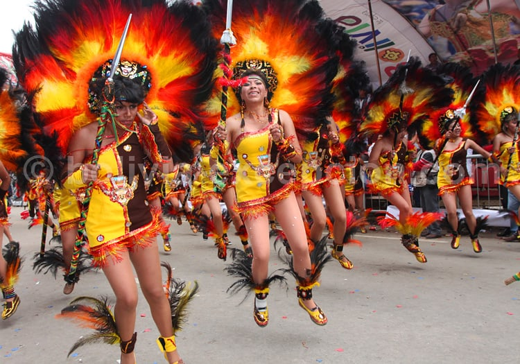 Carnaval d'Oruro, Bolivie