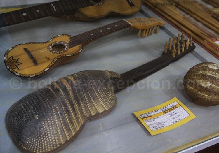 Charango, musée anthropologique de Sucre