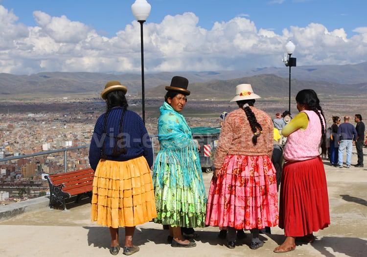 Cholitas boliviennes