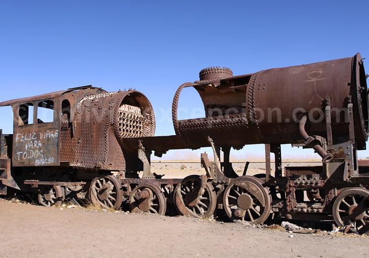 Cimetière des trains, Uyuni