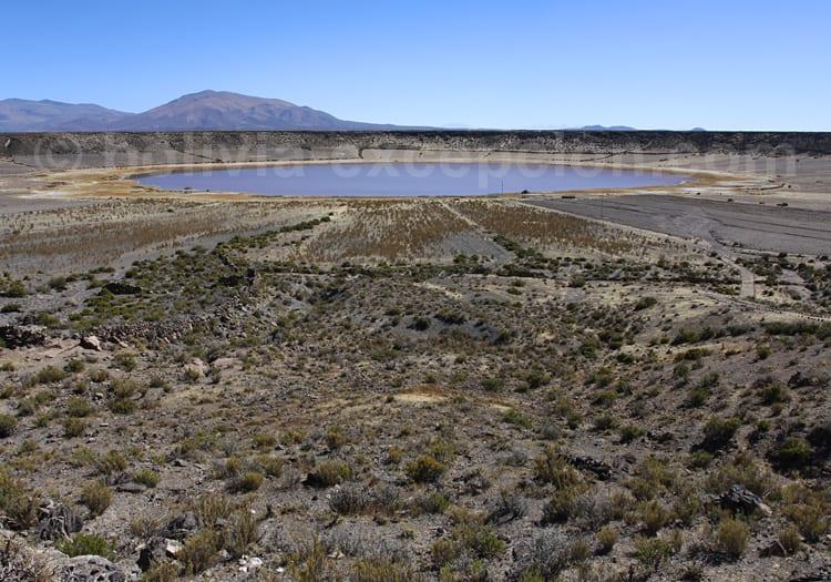 Crater de Jayu Quta, Bolivie