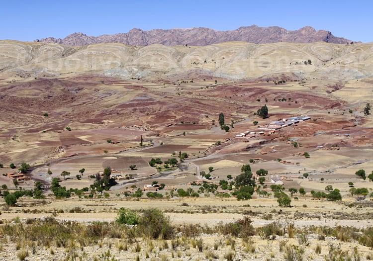 Cratère de Maragua, département de Chuquisaca