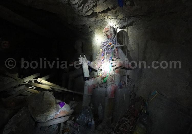 Culte des mineurs à la Pachamama