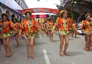 Danse caporales, carnaval de Oruro