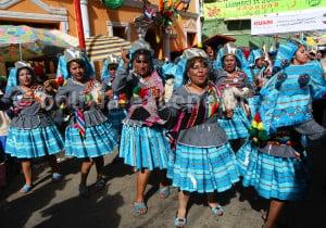 Danse llamerada, carnaval de Oruro