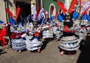 Danse morenada, carnaval de Oruro