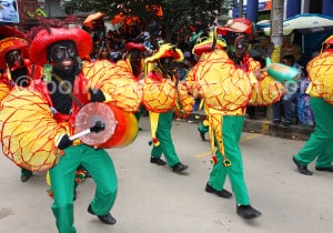 Danse negritos, carnaval de Oruro