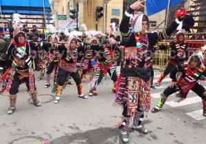 Danse pujllay, carnaval de Oruro