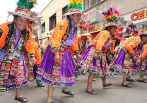 Danse tinku, carnaval de Oruro