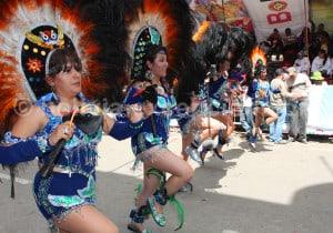 Danse tobas, carnaval de Oruro
