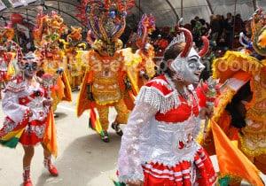 La Diablada, rite ancestral de l'ethnie uru