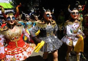 Diablada, mélange des rites catholiques et rites traditionnels andins