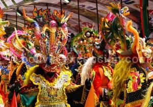 La danse des Diables des peuples urus et aymaras