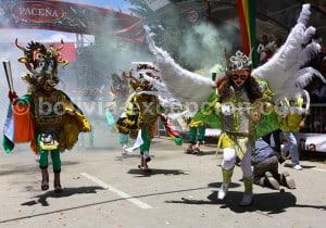 Saint Michel Archange, danse Diablada