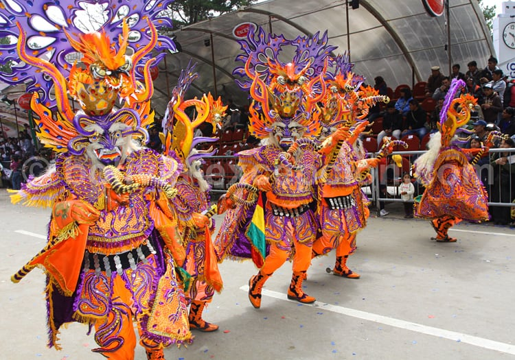 Danse diablada au Carnaval d'Oruro