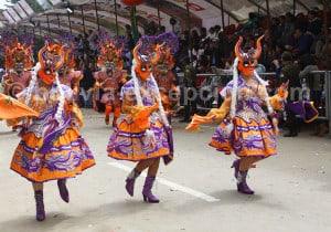 Diablada, serait une antique adoration à Tiw dieu des urus (théorie 1)
