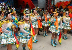 La Diablada aurait pour origine l'adoration aymara à la Pachamama (théorie 2)