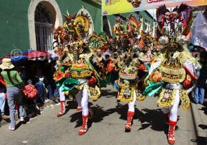 La Diablada, affrontement entre les forces du bien et du mal