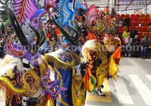 Danse llama llama ou diablada