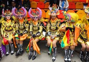 Costume folklorique de La Diablada