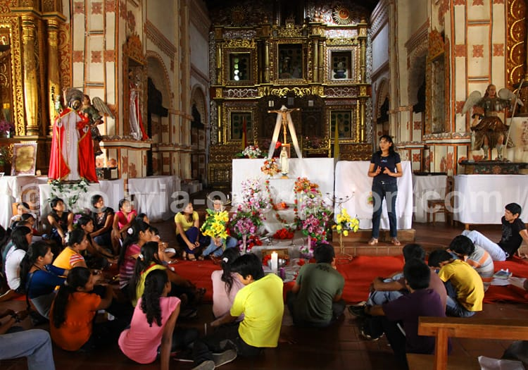 Cathéchisme à San Jose de Chiquitos