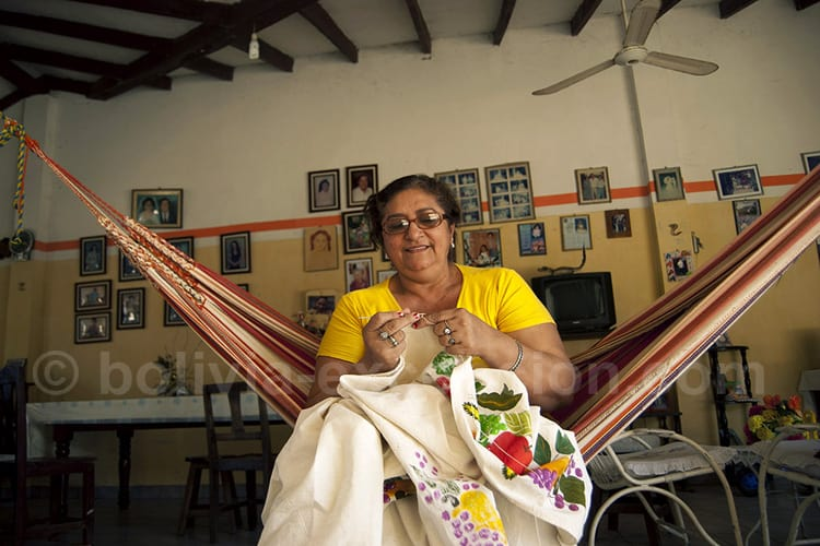 Femme moxo, Amazonie bolivienne