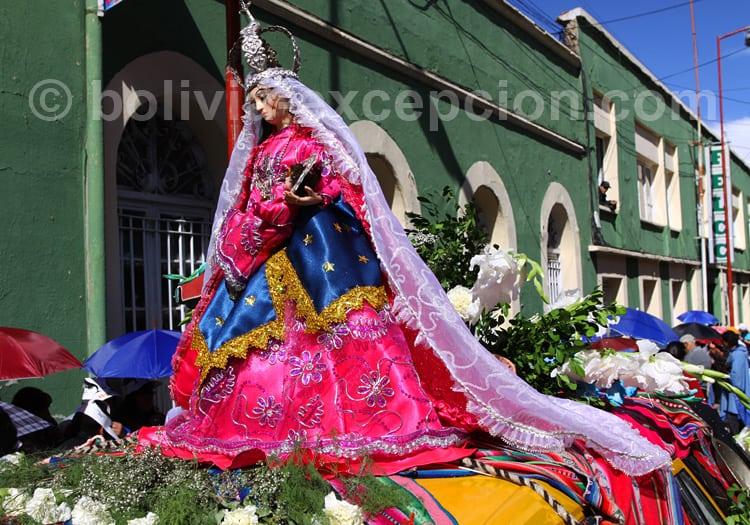 Fête de la Vierge de Guadalupe, Sucre