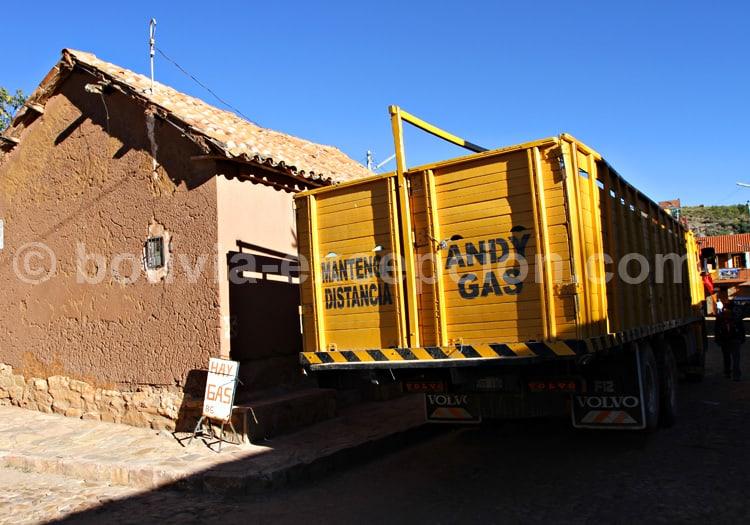 L'industrie du gaz en Bolivie