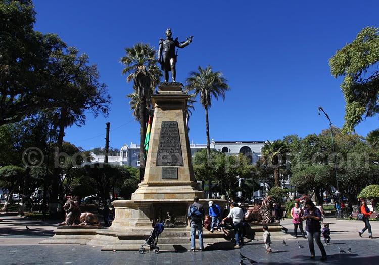 Statue d'Antonio José de Sucre, Maréchal d'Ayacucho