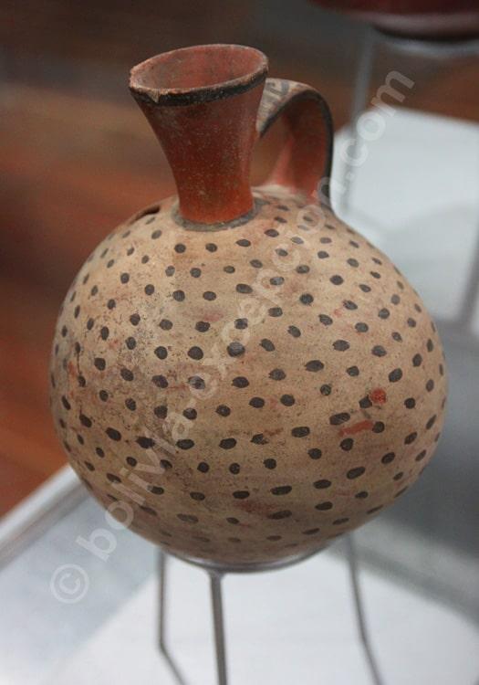 Jarre inca, musée d'Ethnographie de La Paz