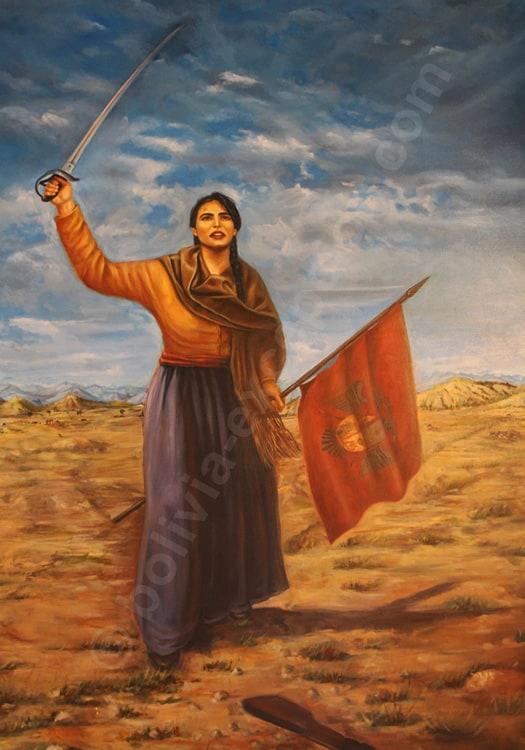 Juana Azurduy de Padilla - Musée Casa de La Libertad, Sucre