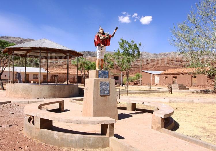 Tomas Katari, village de Quila Quila