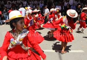 La Llamerada danse originaire de l'Altiplano