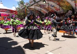 La Llamerada danse originaire de Bolivie et du Pérou