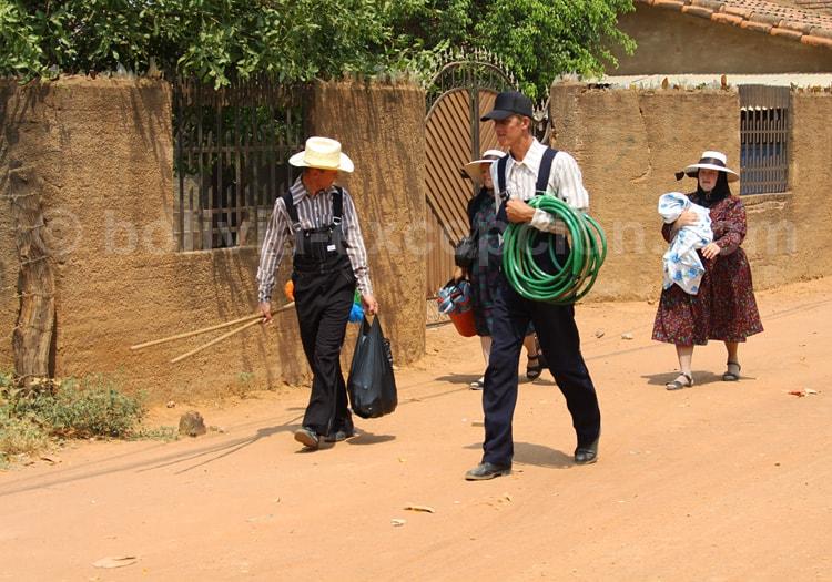 Mennonites à San José de Chiquitos