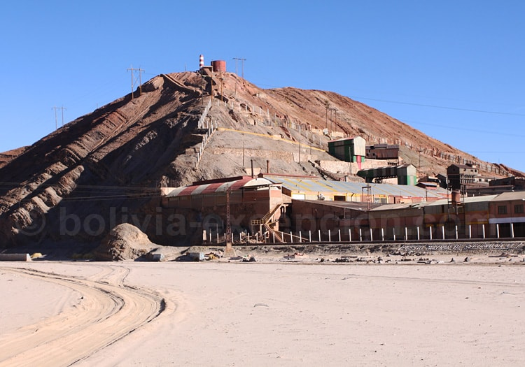 Vue sur la mine de San Cristóbal, Lipez