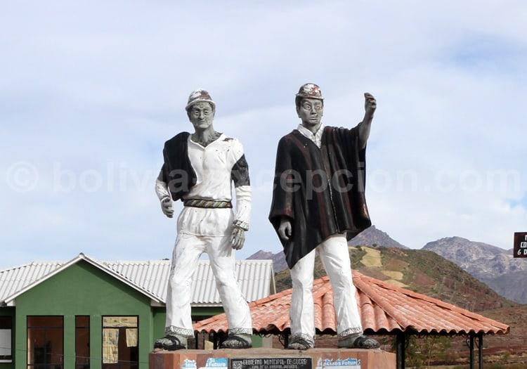 Mineurs de Potolo, Bolivie