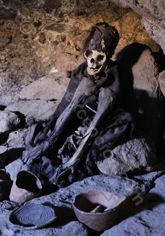 Momies de Coquesa, salar d'Uyuni