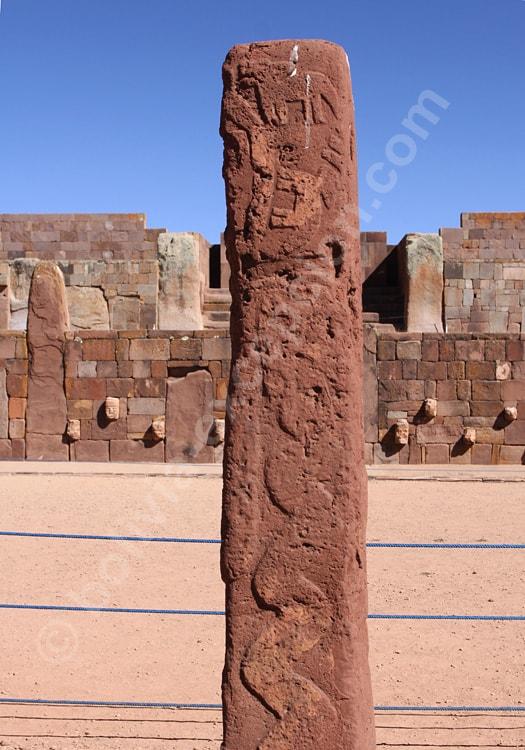 Monolithe de Barbado, Tiwanaku
