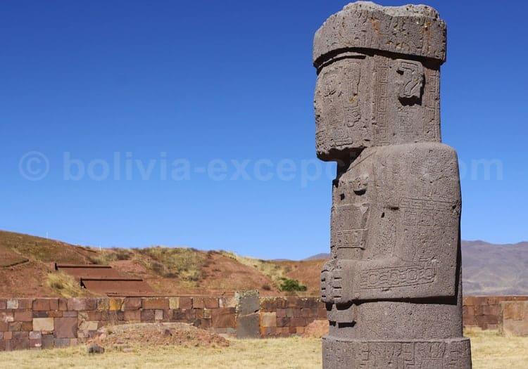 Monolithe de Ponce, Tiwanaku