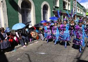 Comparsa morenada à Oruro